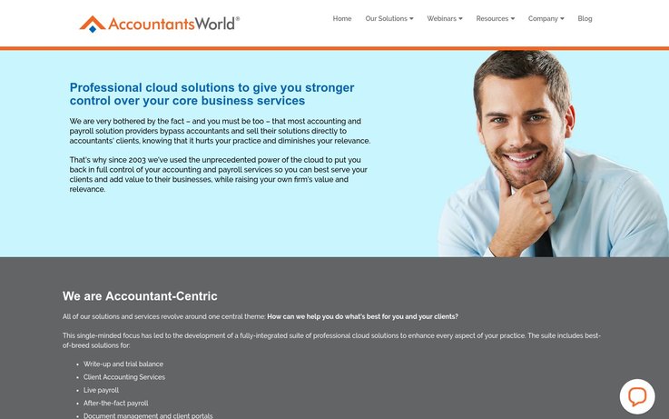 AccountantsWorld - Accounting Practice Management Software