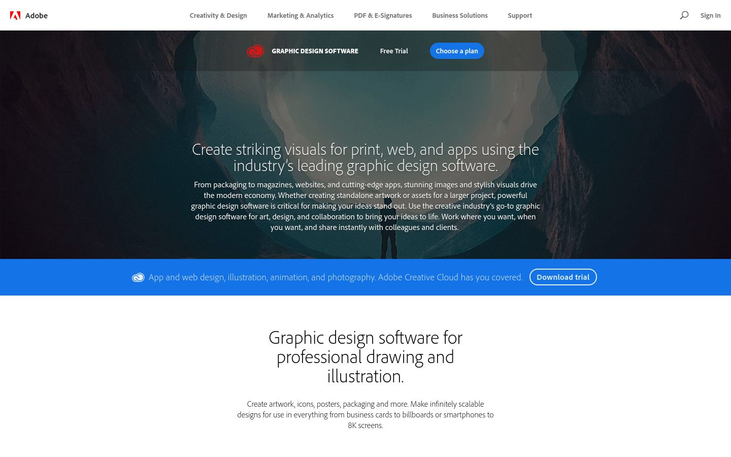 Adobe - Graphic Design Software