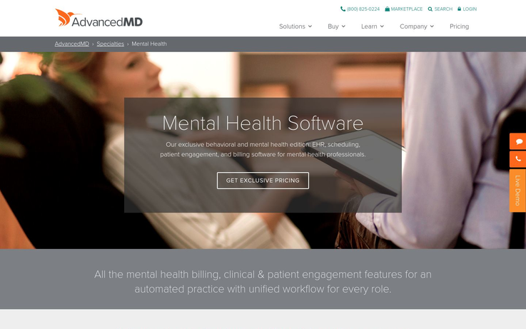 AdvancedMD - Mental Health Software