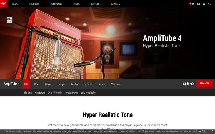 AmpliTube 4 - Amp Software