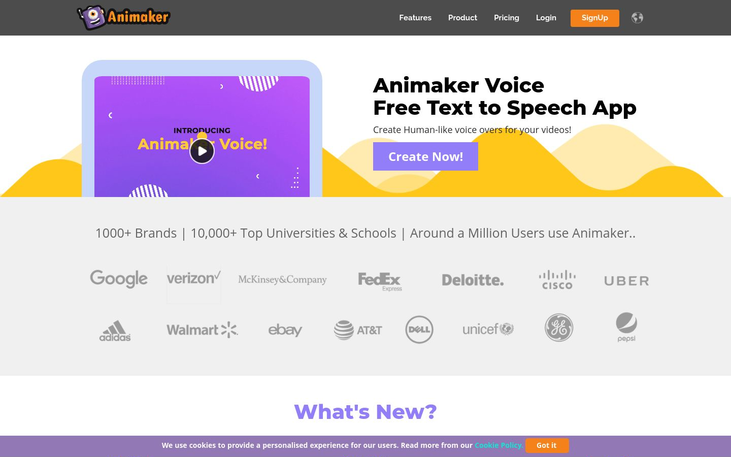 Animaker - Voice Over Software