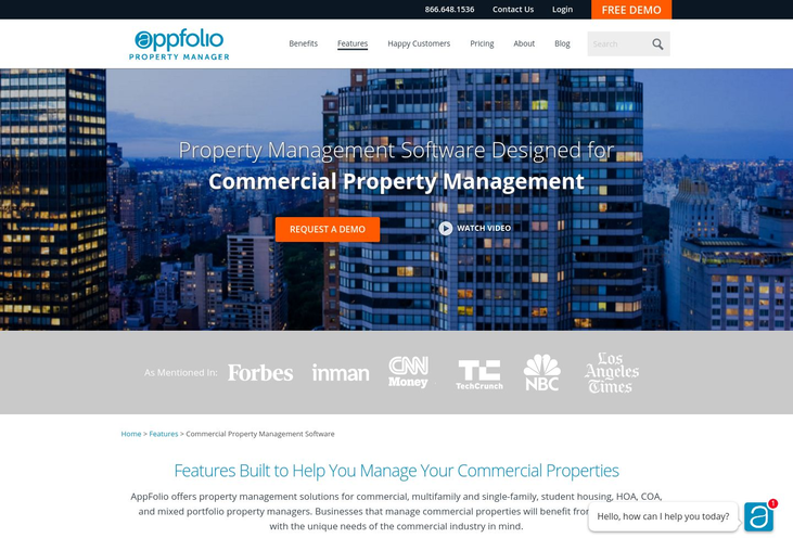 AppFolio - Commercial Software