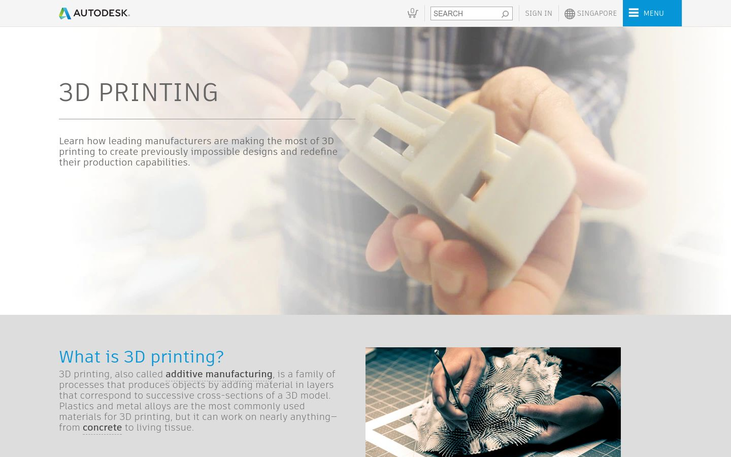 Autodesk - 3D Printing Software
