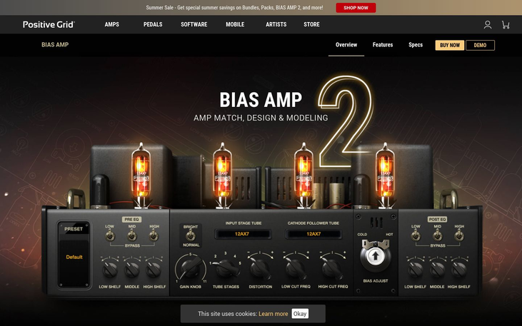 BIAS AMP2 - Amp Software