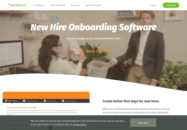BambooHR - Onboarding Software