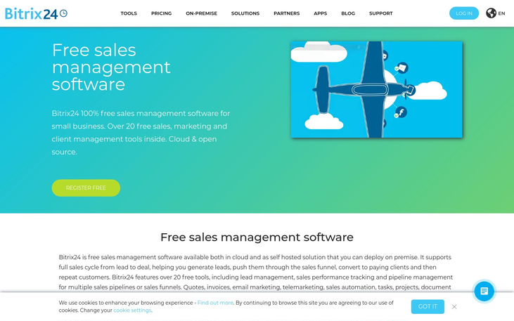 Bitrix24 - Sales Management Software