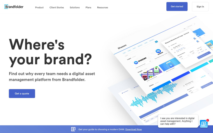 Brandfolder - Digital Asset Management Software