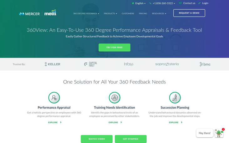 Mettl 360View - 360 Degree Feedback Software