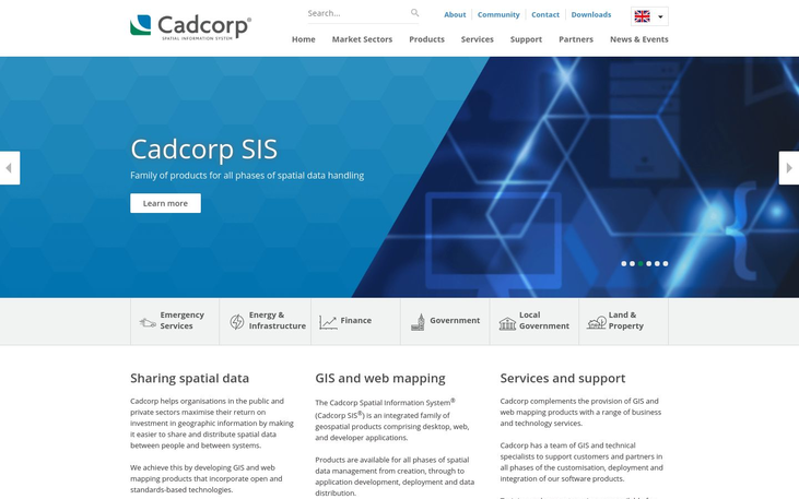 Cadcorp - GIS Software
