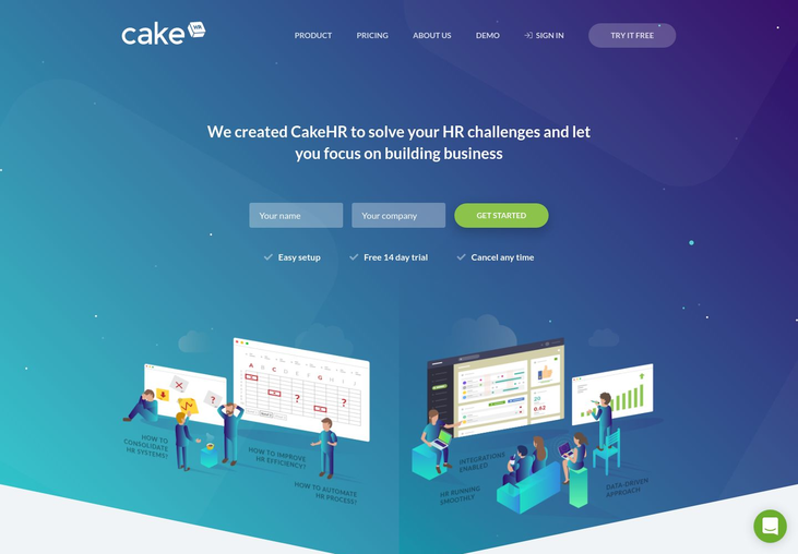 CakeHR - Onboarding Software