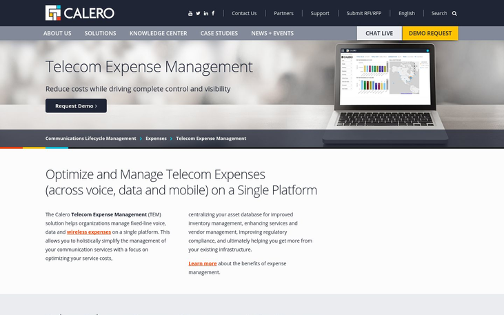 Calero - Telecom Expense Management Software