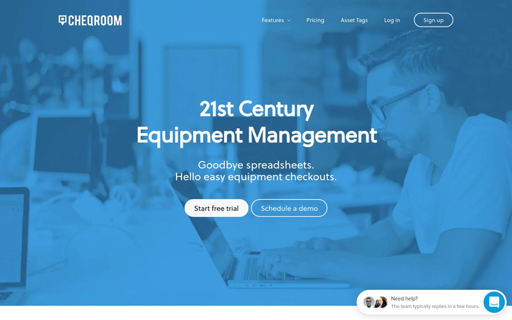 Cheqroom - Tool Management Software