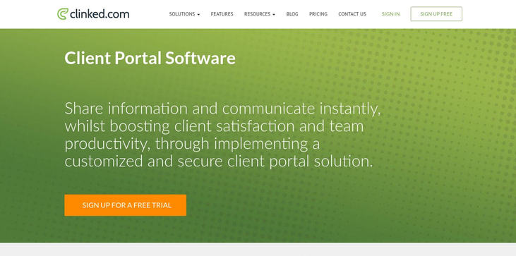 Clinked.com - Client Portal Software