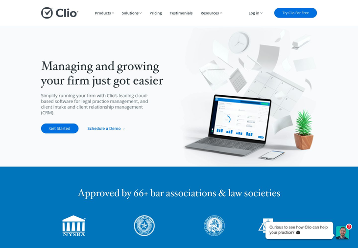 Clio - Law Practice Management Software
