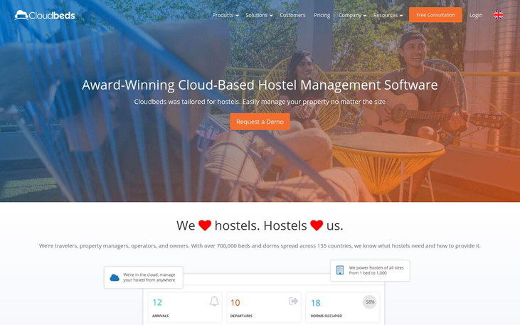 Cloudbeds - Hostel Management Software