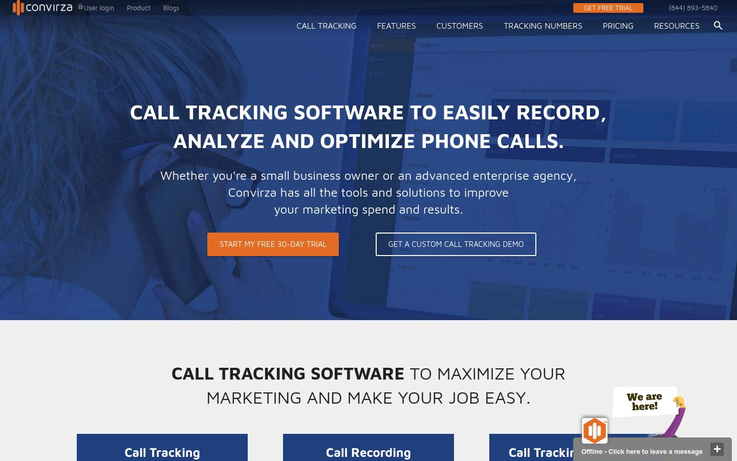 Convirza - Call Tracking Software