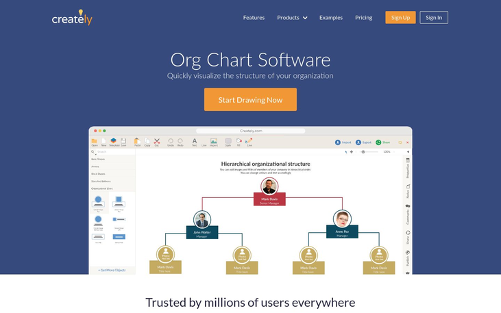 Creately - Org Chart Software