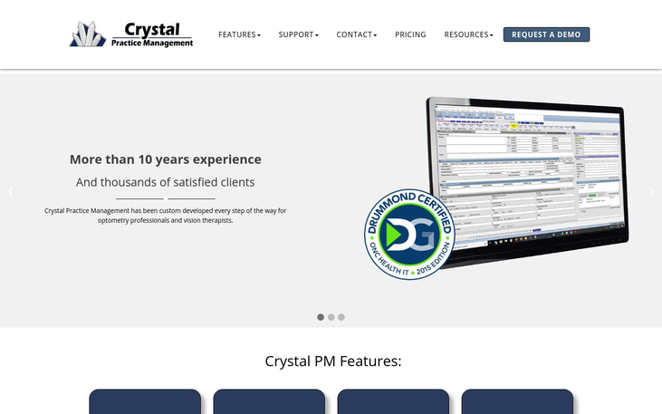 Crystal PM - Optometry Software