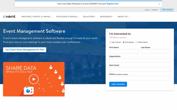 Cvent - Event Management Software