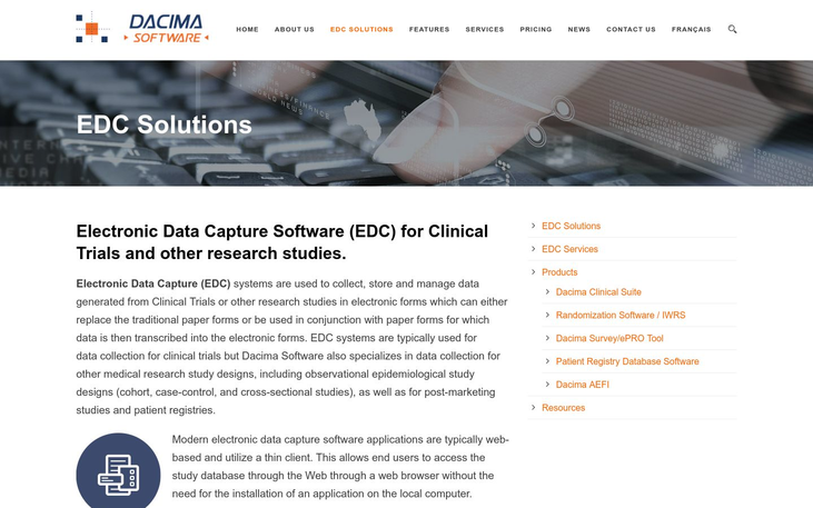 Dacima Software - Electronic Data Capture Software