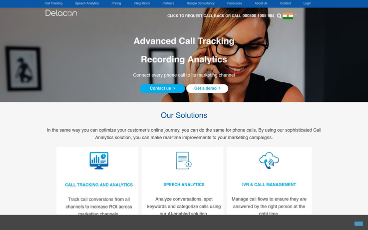 Delacon - Call Tracking Software