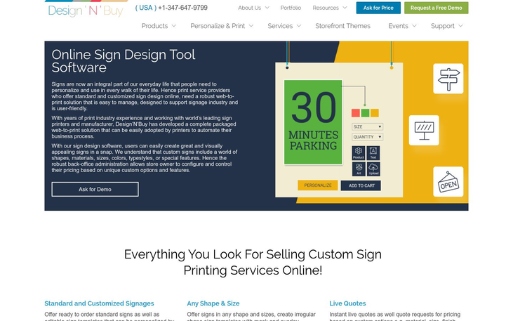 Design N Buy - Sign Design Software