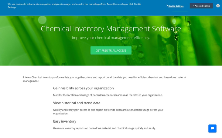 Intelex - Chemical Inventory Software