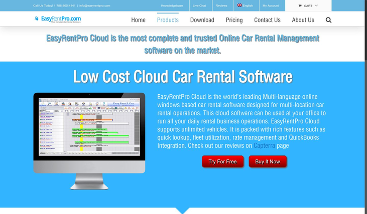Easy Rent Pro - Vehicle Rental Software