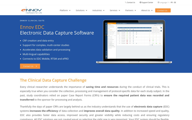 Ennov - Electronic Data Capture Software