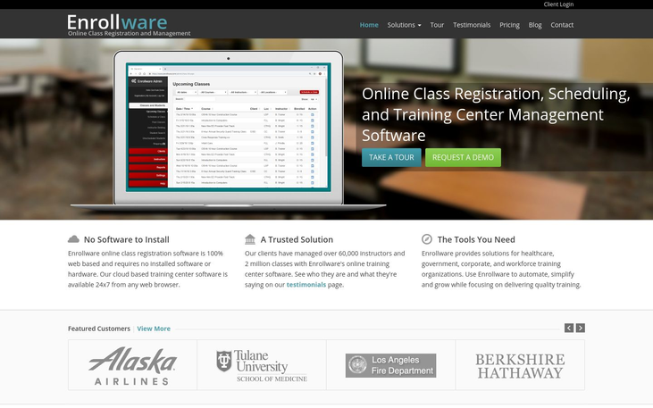 Enroll Ware - Class Registration Software