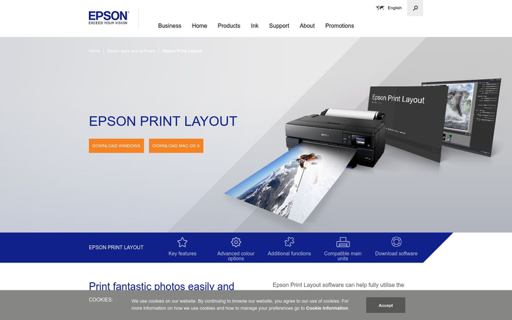 Epson - Photo Printing Software