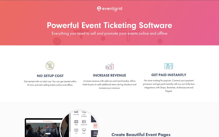 Eventgrid - Event Ticketing Software