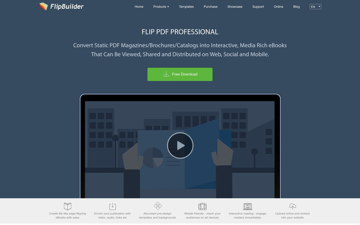 FlipBuilder - Flipbook Software
