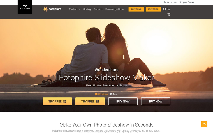 Fotophire - Slideshow Maker Software