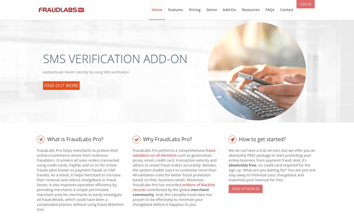 FraudLabs Pro - Fraud Detection Software