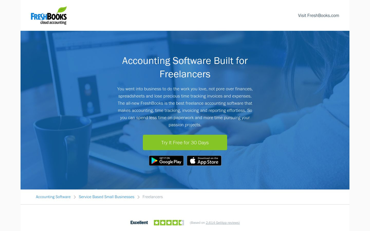 FreshBooks - Freelance Accounting Software