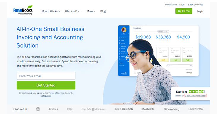 Fresh Books - Accounting Software