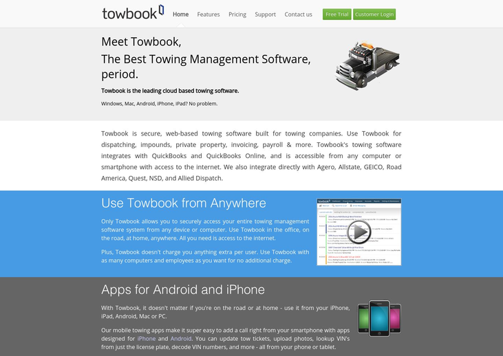 Towbook - Towing Software