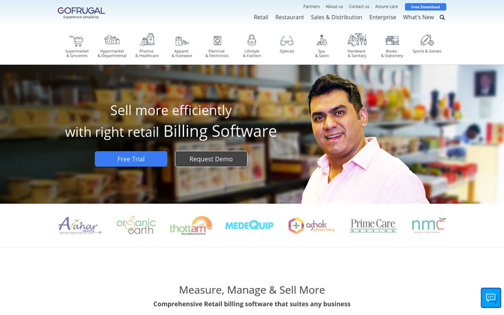 GOFRUGAL - Retail Management Software