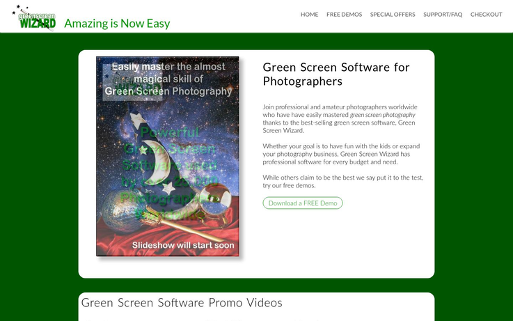 Green Screen Wizard - Green Screen Photo Software