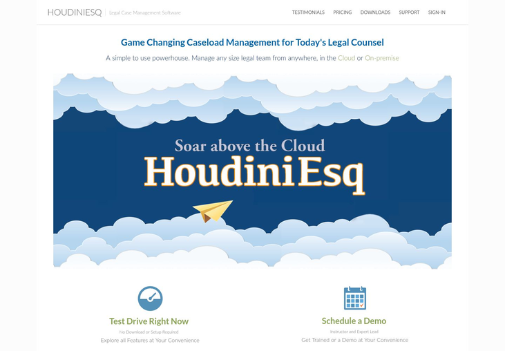 HoudiniEsq - Law Practice Management Software