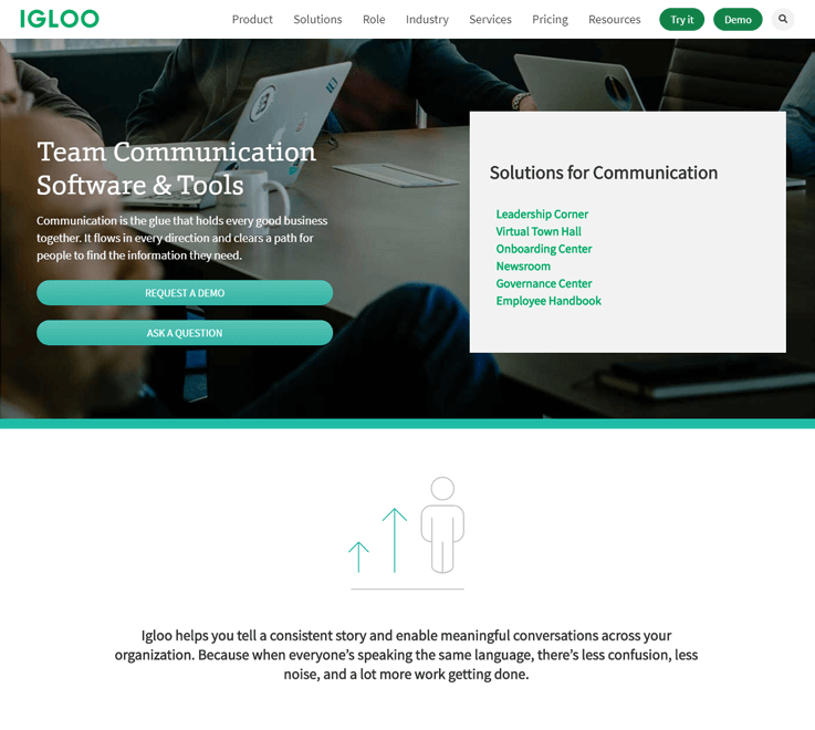 Igloo - Business Communication Software