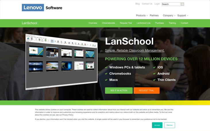 Lenovo LanSchool - Classroom Management Software