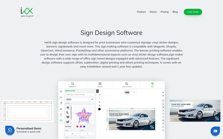 InkXE - Sign Design Software