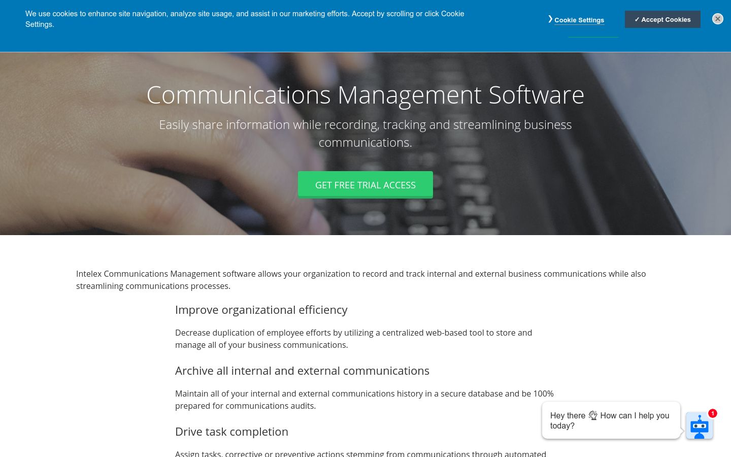 Intelex - Business Communication Software