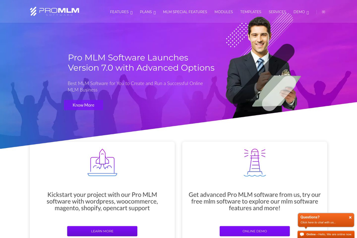 Pro MLM - MLM Software