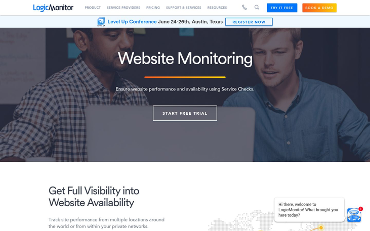 LogicMonitor - Website Monitoring Software