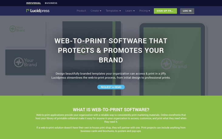 Lucidpress - Web To Print Software