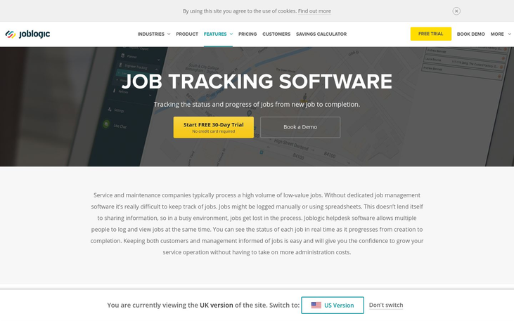 JobLogic - Job Tracking Software