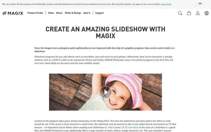 Magix - Slideshow Maker Software